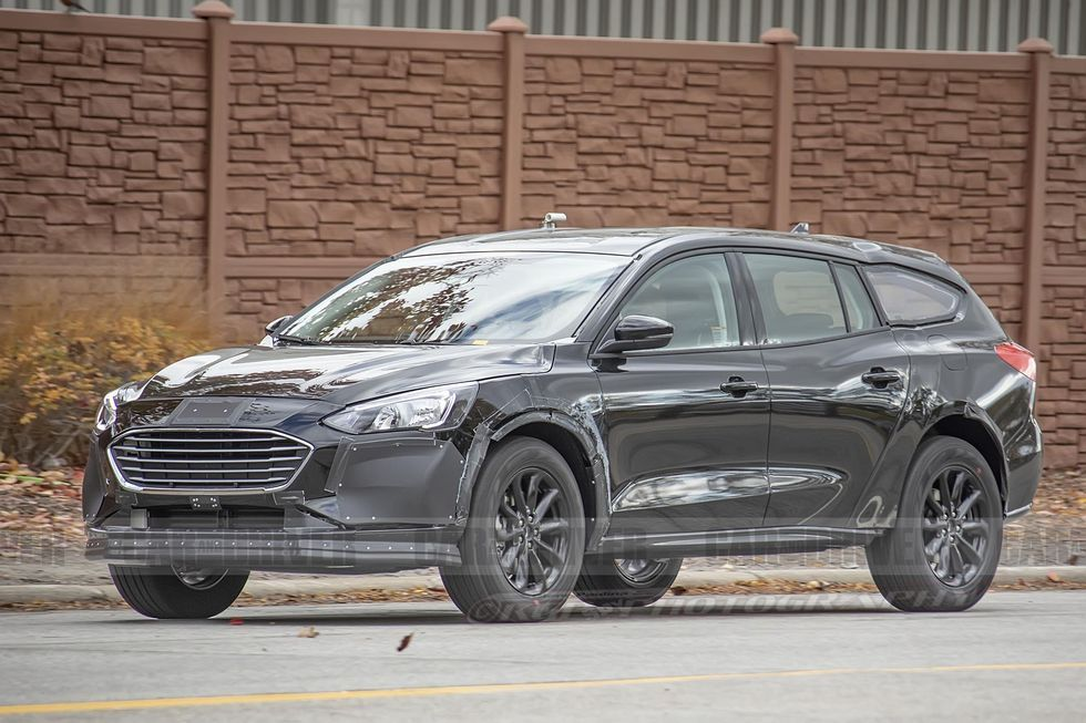 Next Ford Fusion Takes Shape As A Subaru Outback Style Lifted Wagon In 2020 Ford Fusion Subaru Outback Ford Focus Wagon