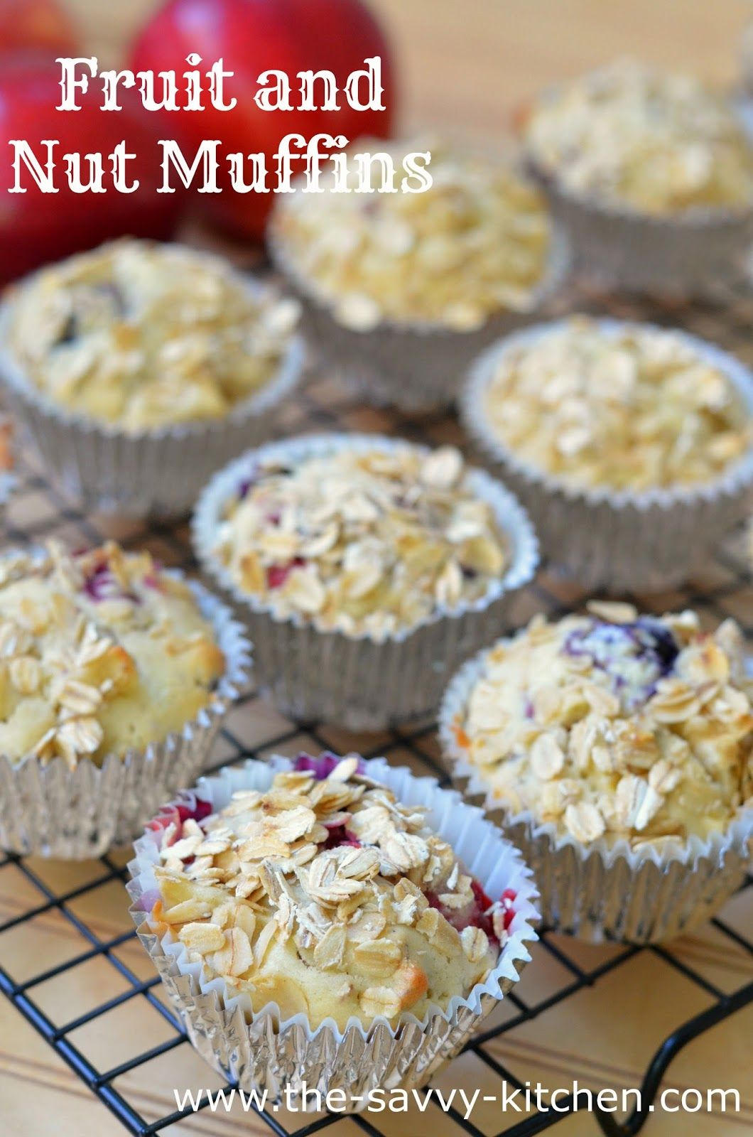The Savvy Kitchen: Fruit and Nut Muffins