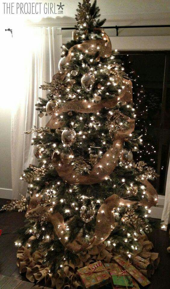 Christmas Tree Ideas, Christmas Tree Gold And Red, How Decorate Christmas  Tree, Simple - Pin By Michele Myers On Inspiration Pinterest Christmas