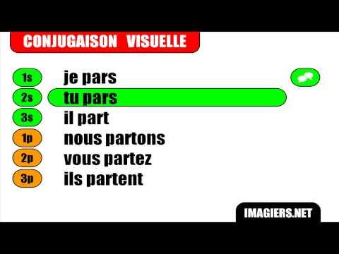 Hd French Verbs Partir Indicatif Present Youtube En 2020 Indicatif Present Apprendre Le Francais Exercices De Comprehension
