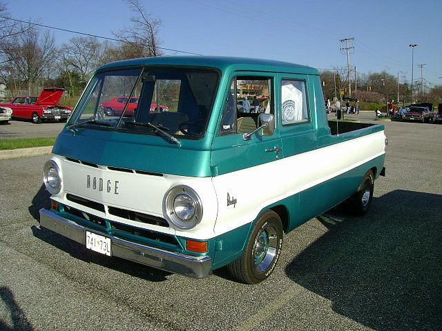 1967 Dodge A-100 Quad Cab conversion by splattergraphics, via Flickr