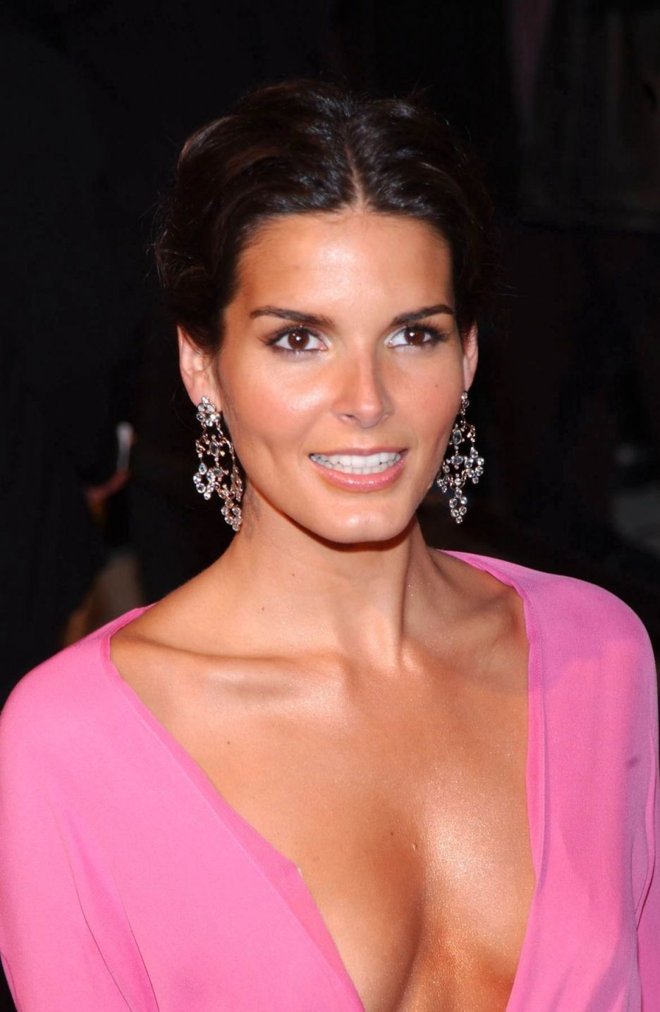 pretty makeup for brown eyed brunettes angie harmon | yes, i'm a