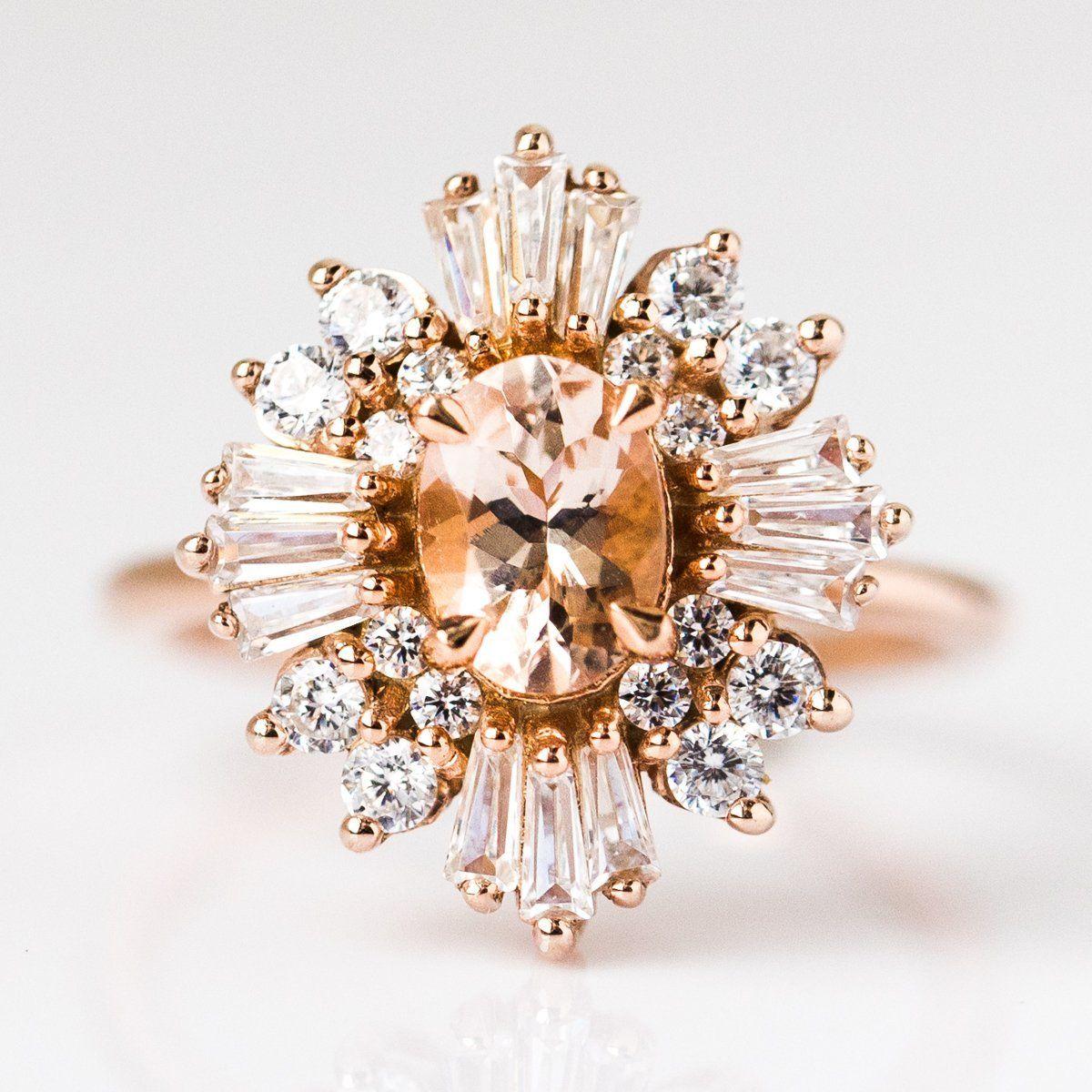 Victoria Romantic Cluster Ring Black hills gold jewelry