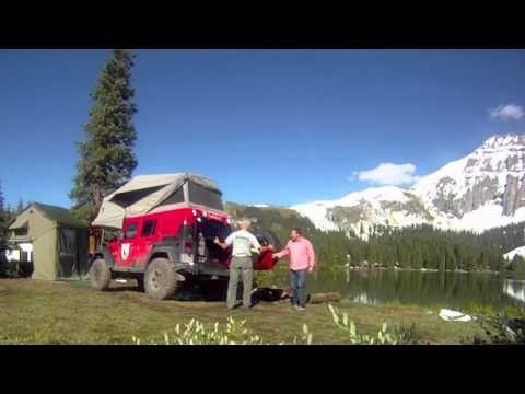 JK Habitat Deployment adventure trailers