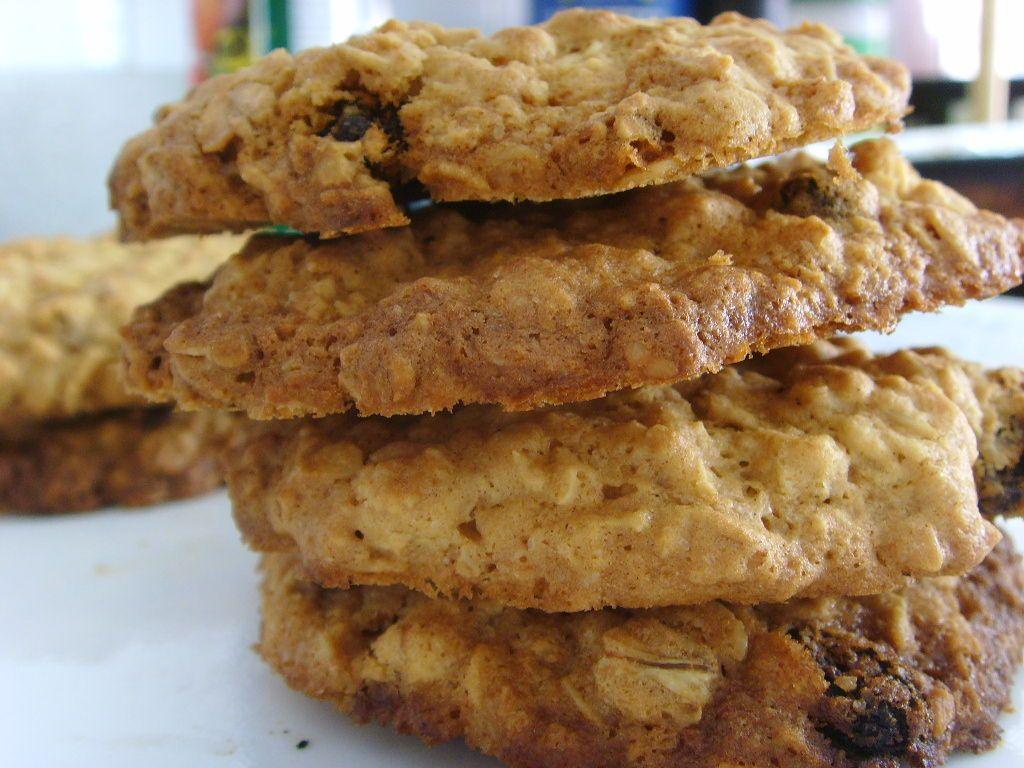 Cinnamon-Raisin Oatmeal Cookies.