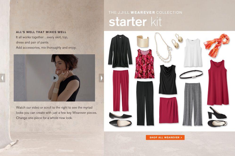 The J.Jill Wearever Collection Starter Kit