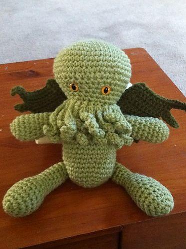 Crochet Cthulhu Craftyness Pinterest Crochet And Cthulhu