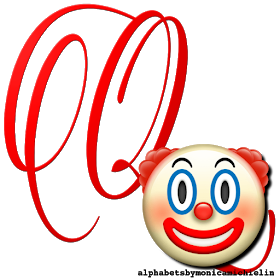 Alphabets By Monica Michielin Clown Emoticon Emoji Alphabet Png Emoji Emoticon Charlie Brown