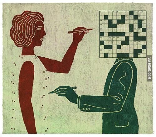 trying to figure each other out