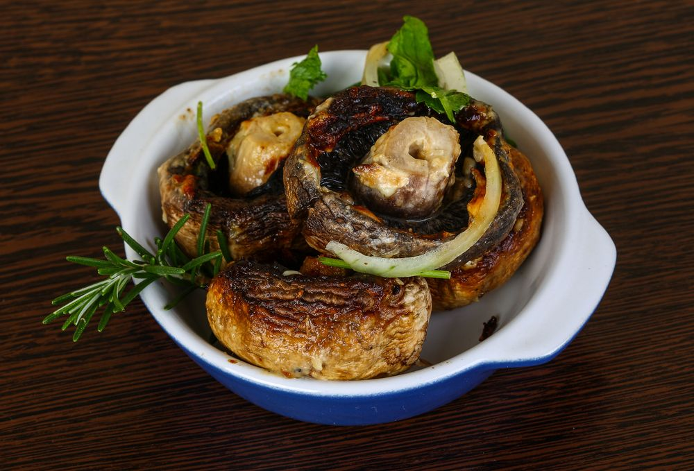 How To Air Fry Stuffed Mushrooms Recipe Stuffed