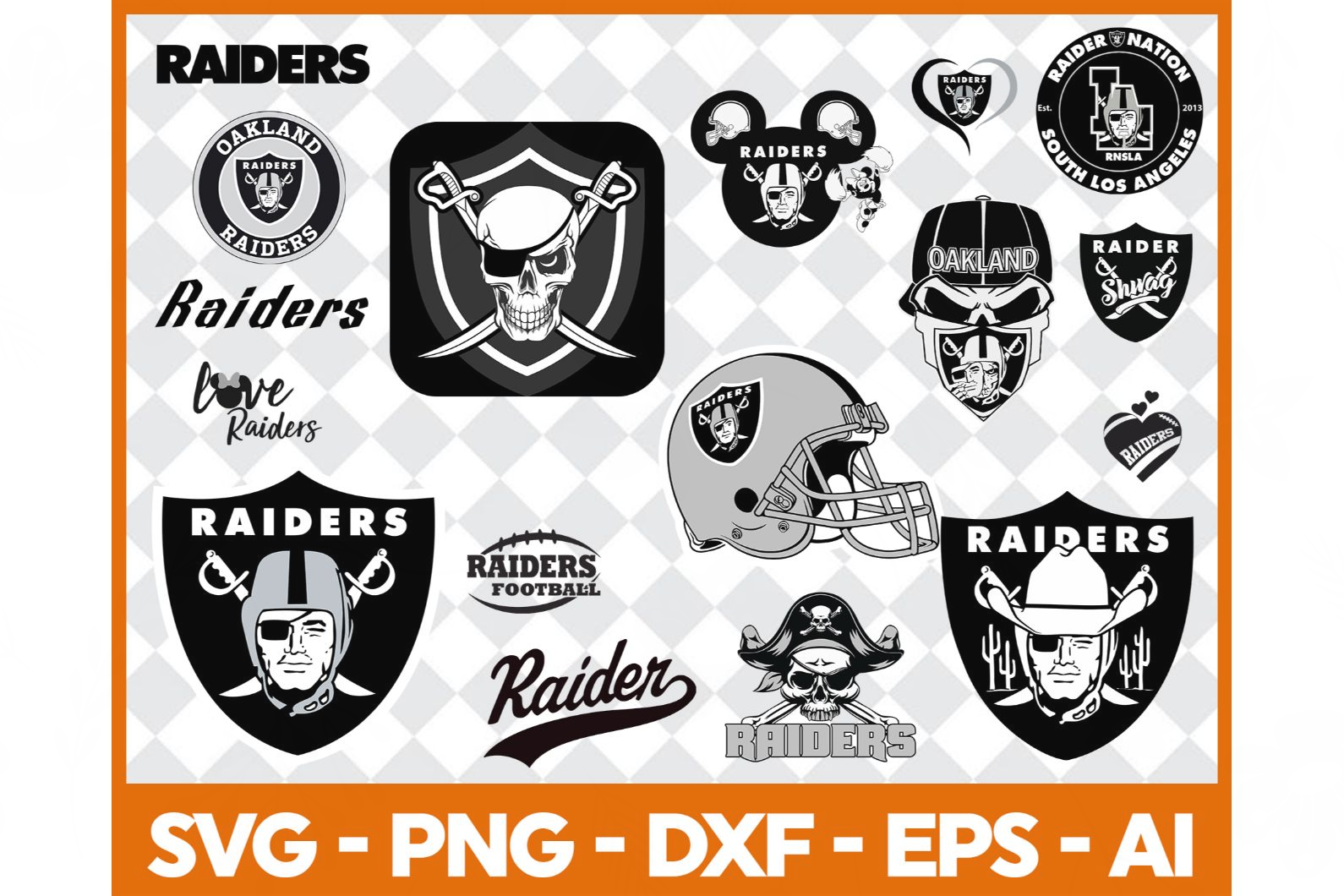 Oakland Raiders svg,nfl svg,Football svg file,Football