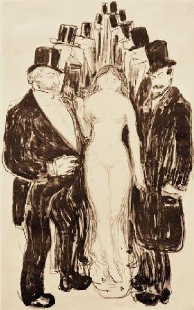 Edvard Munch - Die Gasse