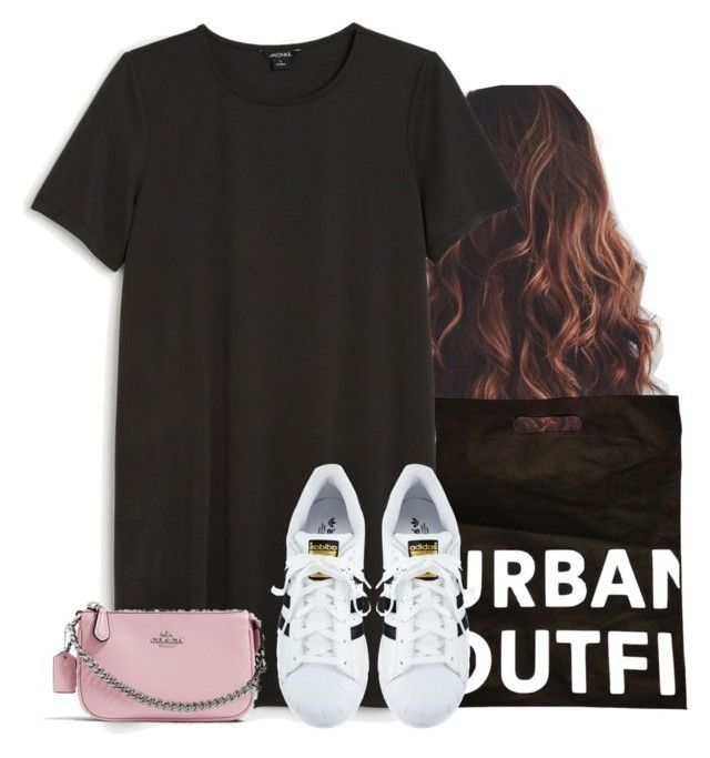 """""""I'm taking myself on a shopping spree tomorrow😜"""" by aweaver-2 ❤ liked on Polyvore featuring Monki, adidas and Nolita"""