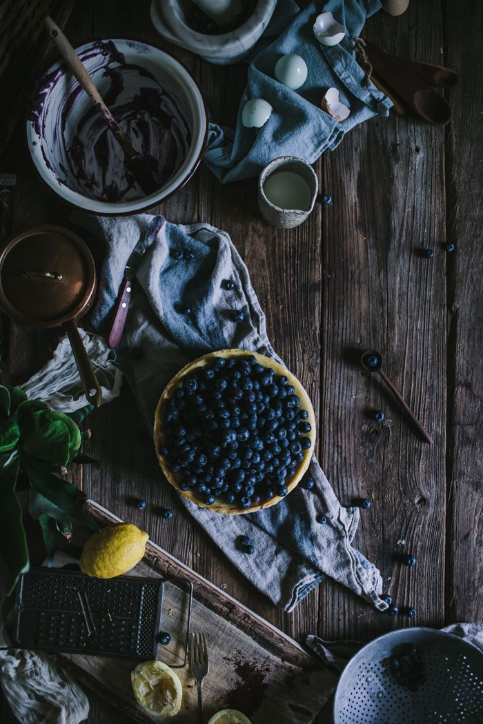 Blueberry Lemon Cheesecake by Eva Kosmas Flores | Adventures in Cooking