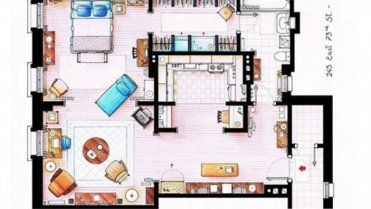 Architizer Blog Tell Us Who You Think Will Win The 2013 Pritzker Prize Carrie Bradshaw Apartment Floor Plan Sketch Apartment Floor Plans