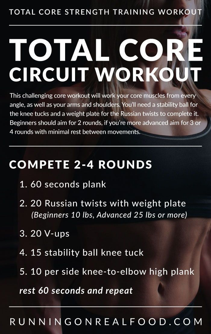 Core Circuit Workout #coreworkouts