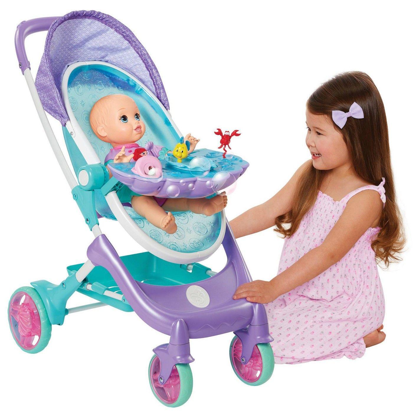 My Disney Nursery Musical Bubble Doll Stroller The