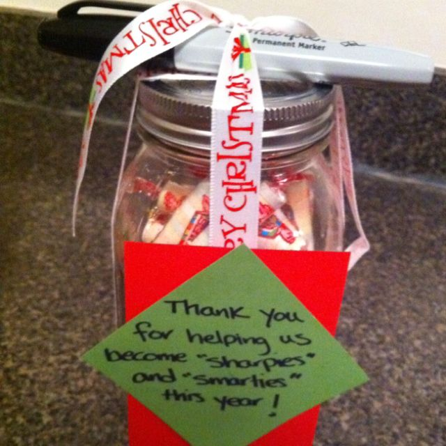 Holiday gift idea for daycare teacher - Holiday Gift Idea For Daycare Teacher She's Crafty Pinterest