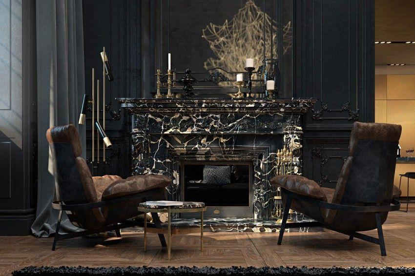 Decoration Sophistiquee Dans Un Appartement Parisien Idees Pour La