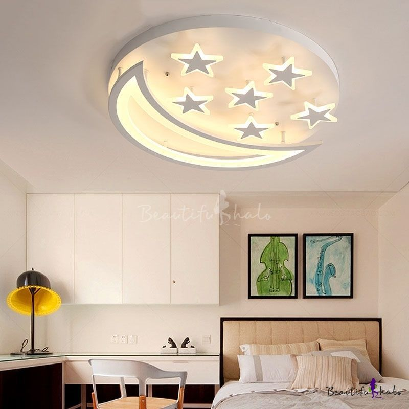 Bring The Wow Factor With These Custom Led Flushmount Kids Lights In Various Themes Like S Ceiling Design Living Room Modern Kids Room Ceiling Design Bedroom