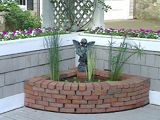 Water Features For Any Budget Home Improvement Diy Network Small And Simple Find A Place On Patio Or Deck