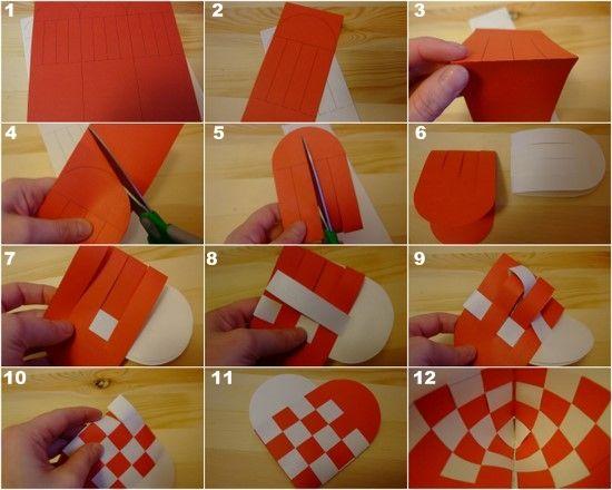 Danish Christmas hearts tutorial