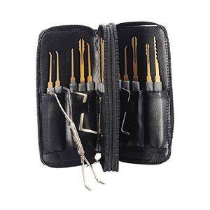 Amazon.com: Ehdching 24pcs Leather Packing Titanize Scissors And Single Hook Lock Tools
