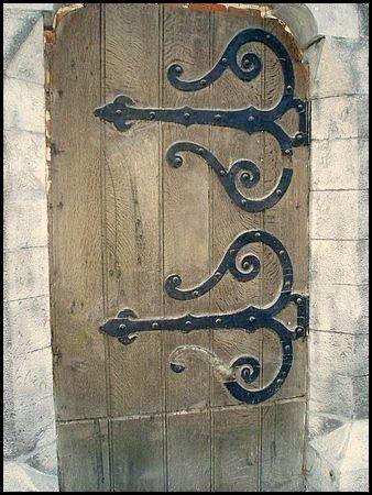 Pentures De Porte D Eglise Gorgeous Doors Door Accessories Gothic Hardware