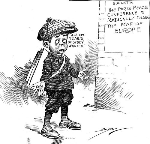 awesome Redrawing Europe, 02/18/1919