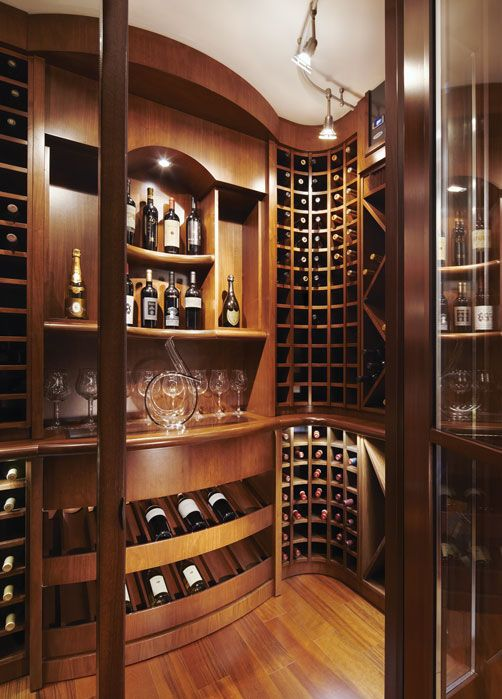 On The Water S Edge Home Wine Cellars Wine Cellar Design Wine