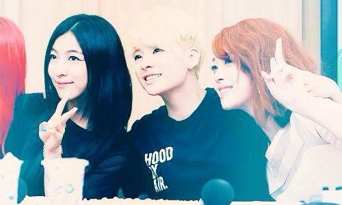#Luna #Sunyoung #Amber #Sulli #Jinri #visual #FX