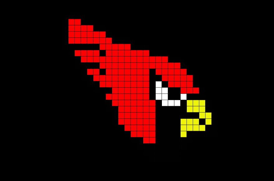 Nfl Arizona Cardinals Pixel Art Pixel Art 8 Bit Art Nfl