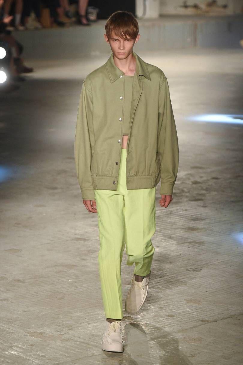 Acne Springsummer 2019 Menswear Fashioo Printemps été Mode