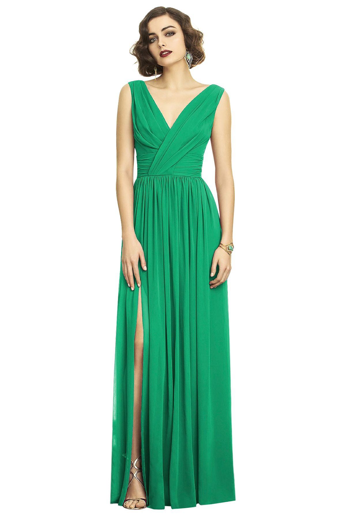 Shop dessy bridesmaid dress in lux chiffon at weddington way