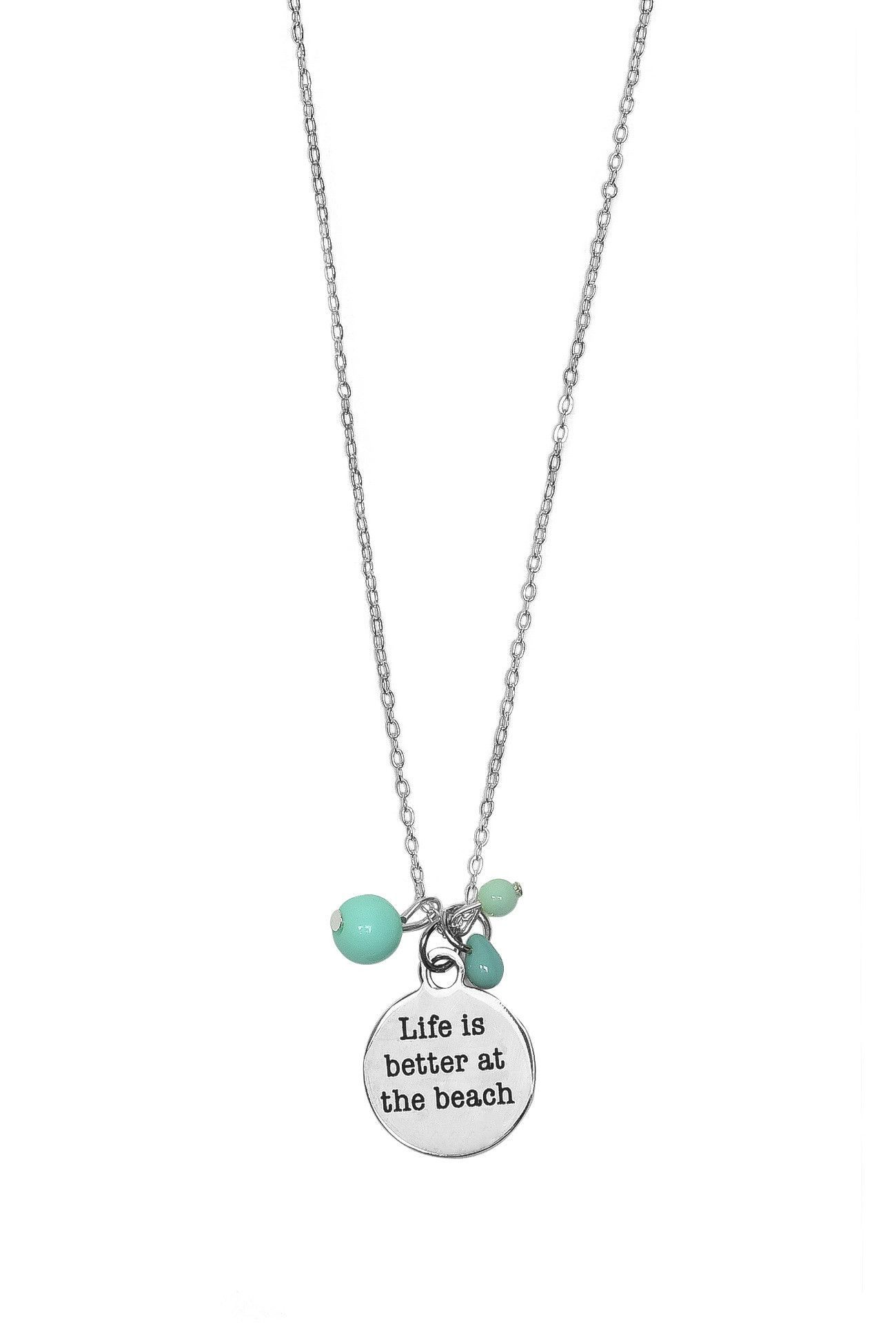 Life is Better at the Beach Necklaces