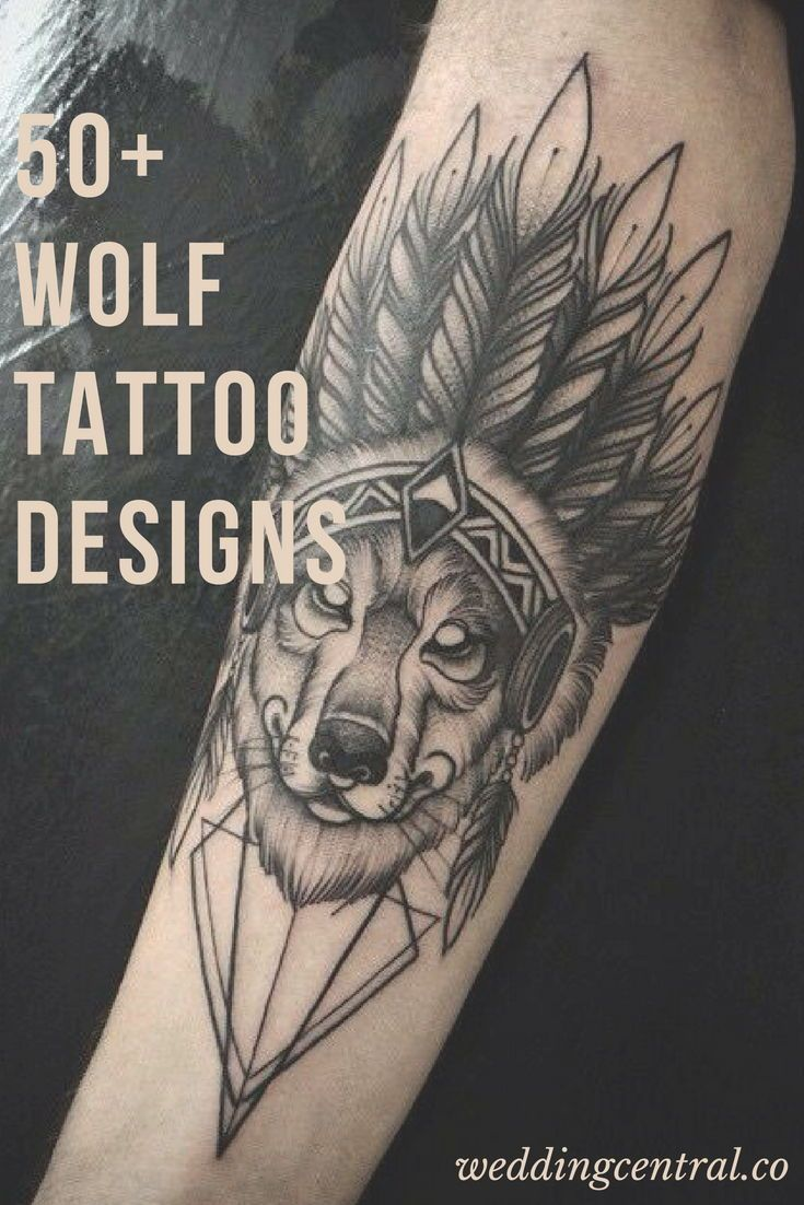 50 Wolf Tattoo Ideas – Because If You Live Among Wolves You Have To Act Like A Wolf