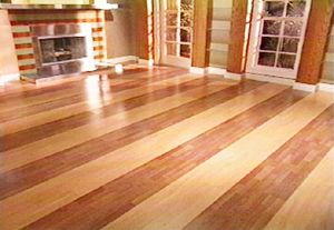 Two Tone Wood Floor