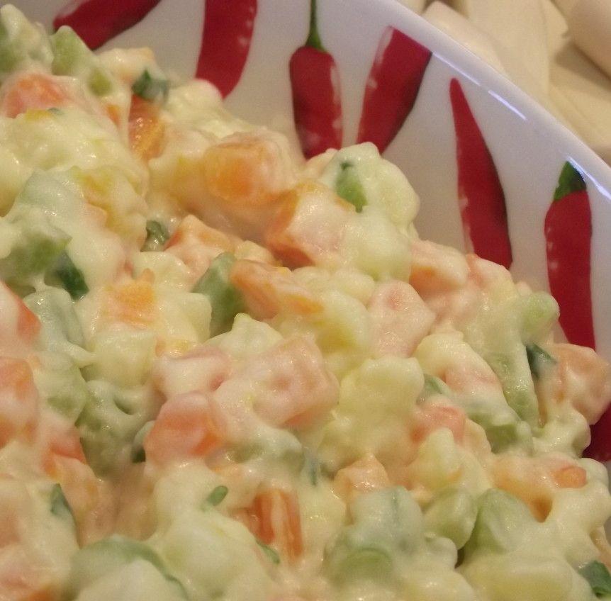 A Melhor Receita De Salada De Maionese Simples Do Site Multi