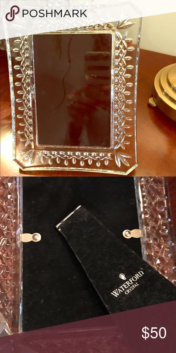 Waterford Crystal picture frame   Waterford crystal, Crystals and ...
