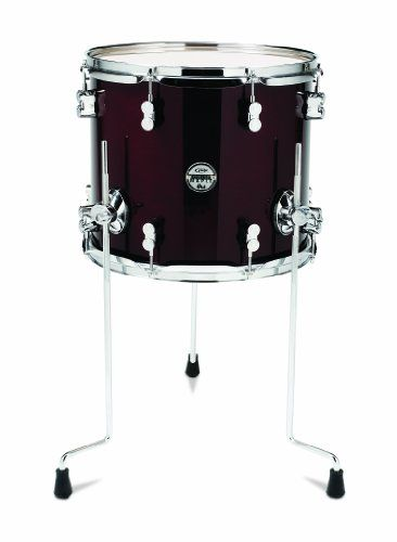 Pacific Drums Pdcm1214tttc 12 X 14 Inches Floor Tom With Chrome Hardware Transparent Cherry More Info Could Be Found At The Drums Pacific Drums Snare Drum