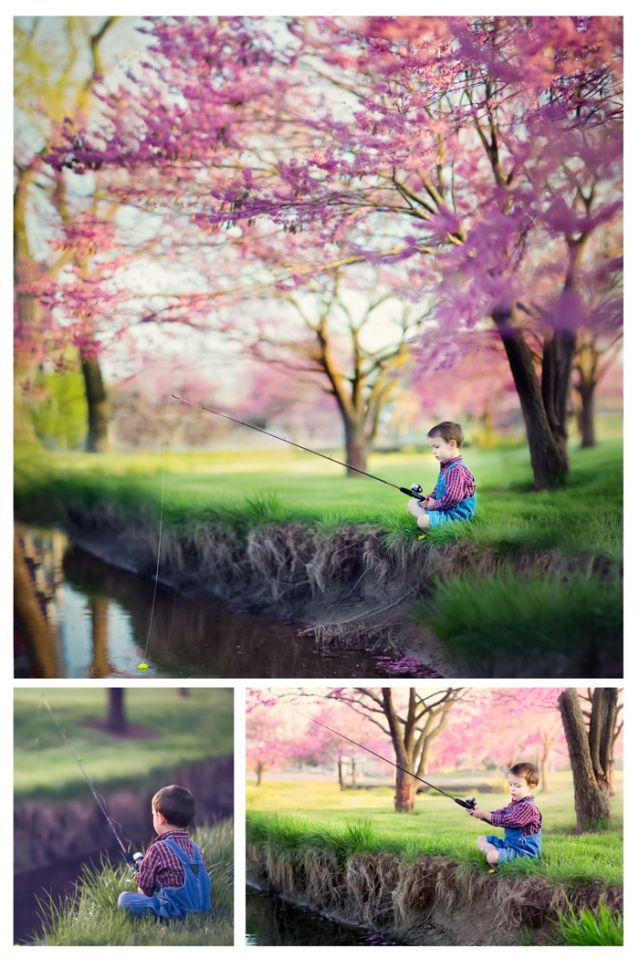 Gone Fishin' » Darren Strubhar Photography - children's photography ideas