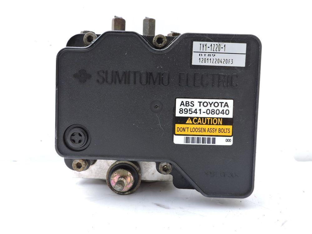 02 03 Toyota Sienna Abs Module 89541 08040 Anti Lock Brake Pump Unit Assembly Toyota Toyota Sienna Cool Vans