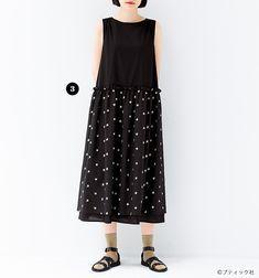 fd514dc3b8b スカートはドッキング風!おしゃれな手作りワンピースの作り方 ...