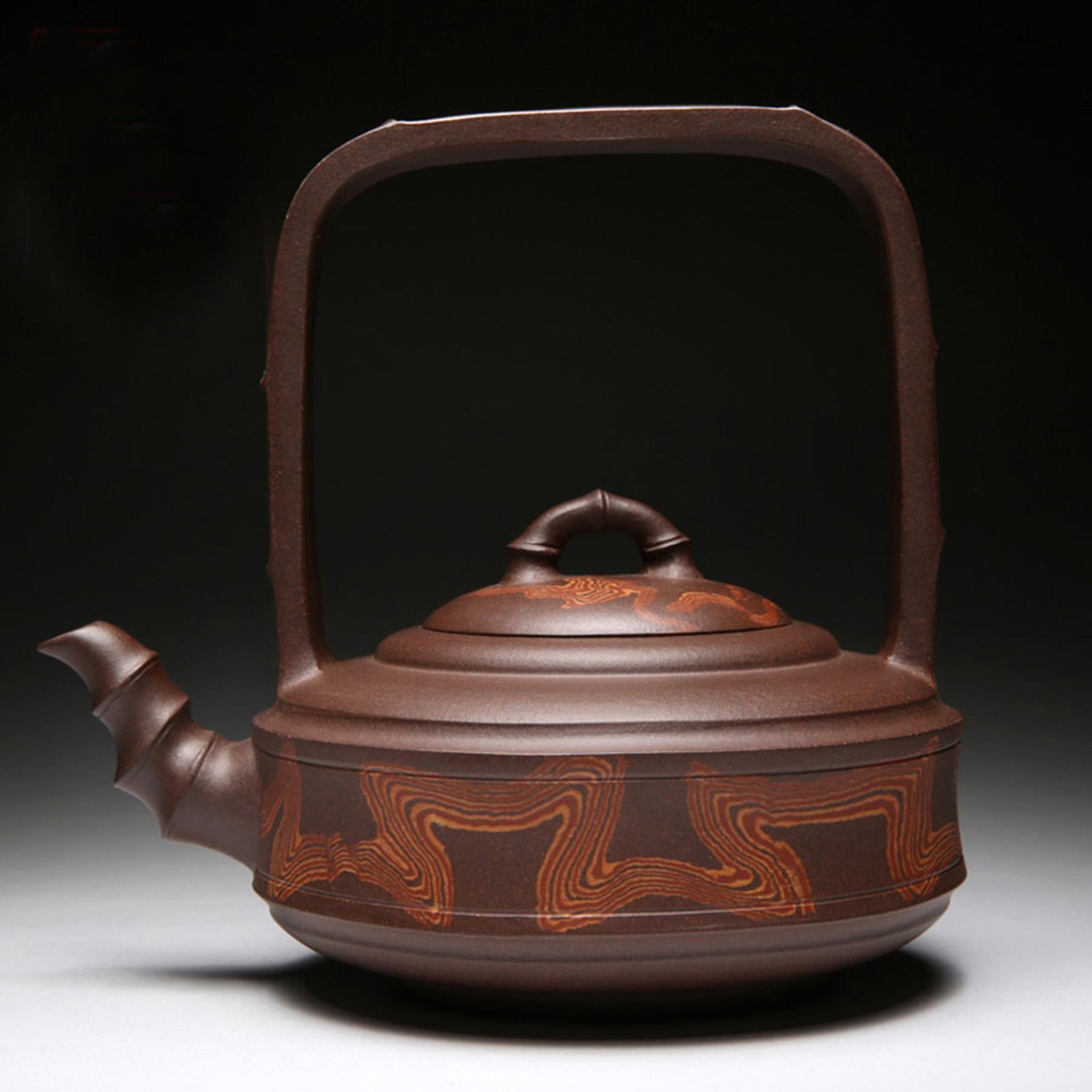 chinese yixing teapot handmade teapot org jiaoni ti liang pot