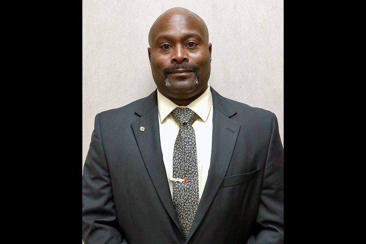Clarksville Mayor Joe Pitts announces Freddie Montgomery