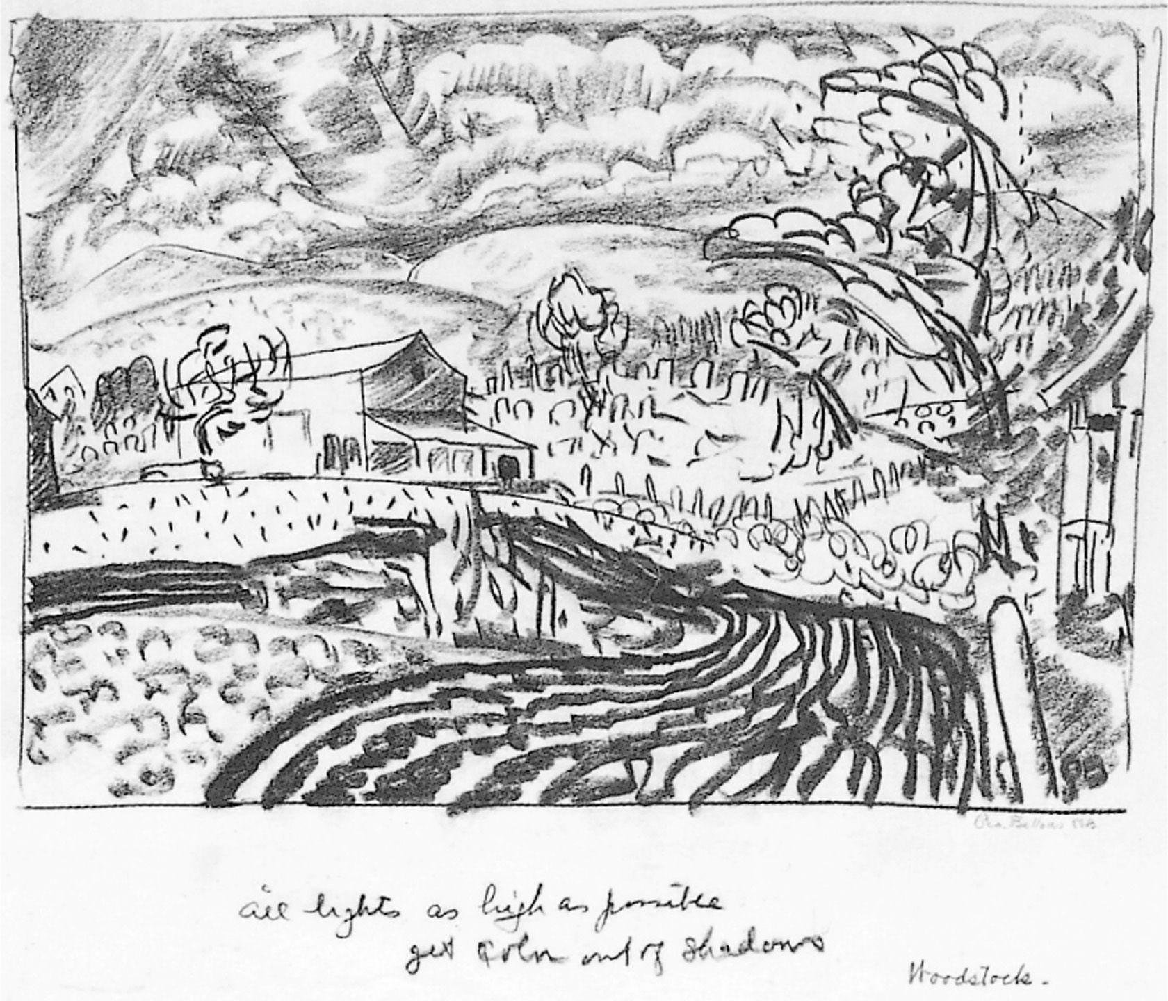 1 8 George Bellows Woodstock Road Woodstock New York