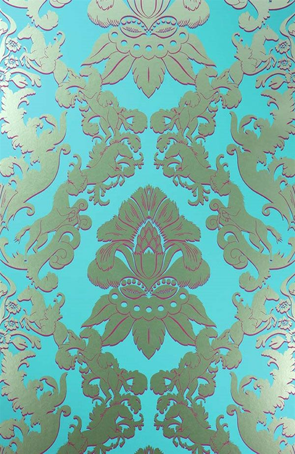 Englische Tapete Osborne Little Matthew Williamson Pegasus Eden Turkis Gold Barock Ornament Online Kaufen Englische Tapeten Tapeten Papierwande