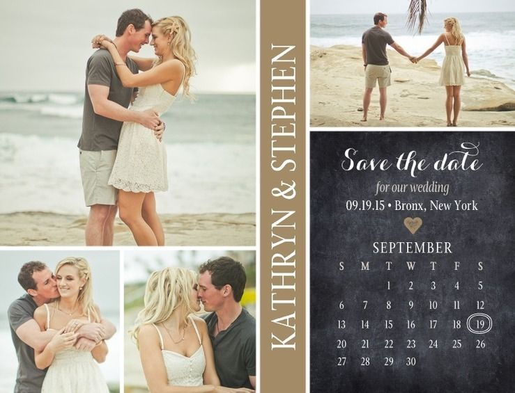 22 creative and fun save the dates for your inspiration from Secret Wedding Blog. Photography, typography, cute, lovely and romantic save the dates!