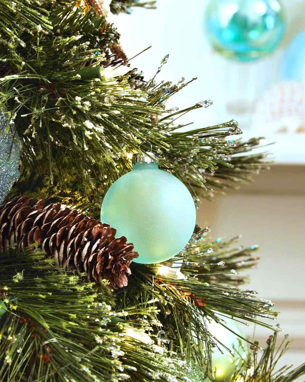 Sea Glass Ornaments | DIY Holiday Decorations | Pinterest ...