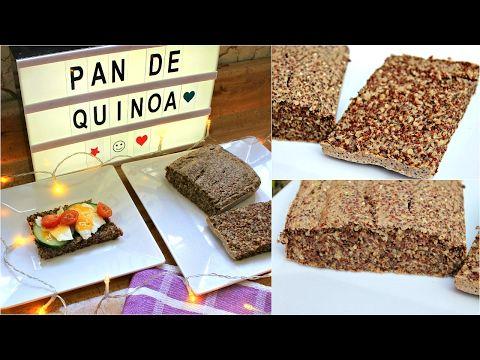 Pan saludable de quinoa y ch a youtube balanceando la for Como se cocina la quinoa para ensalada